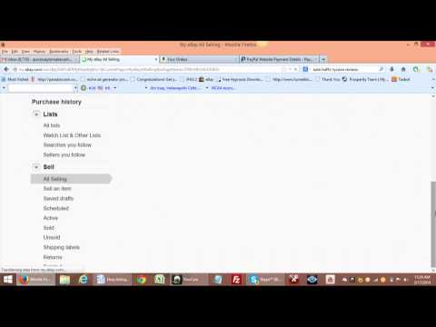 How To Upload The Tracking Number Inside of Paypal
