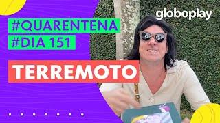 Marcelo Adnet imita Bolsonaro imitando Romero Britto | Sinta-se em Casa | Globoplay