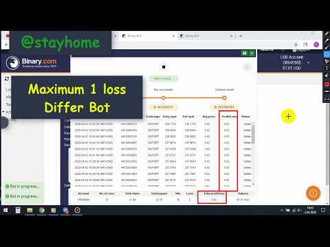 Pandemic Differ Bot Real Binary Account(Free Download)