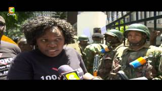 Police Teargas Parents, Activist Protesting High School Fees