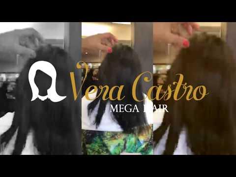 Vera Castro Mega Hair - Efeito Slow Motion nos cabelos