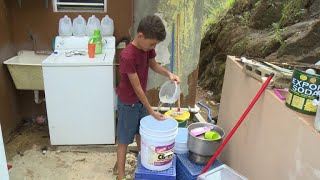 Weeks after Maria, clean water remains scarce in Puerto Rico