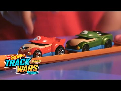 Thumbnail: Track Wars: Special Edition: Super Mario Bros.! | Track Wars | Hot Wheels