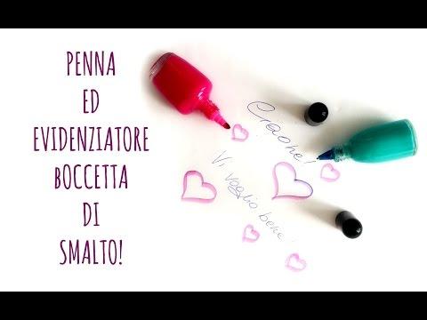 Back to school:Penne ed evidenziatori da a forma di boccetta di smalto! (creatività)Arte per Te