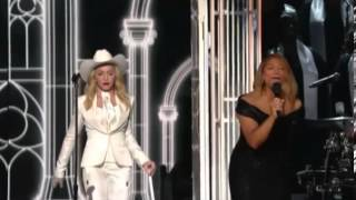Madonna performs as couples wed at the Grammy Awards   Mail Online