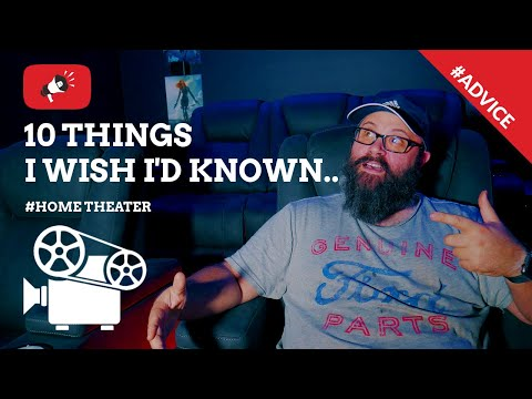 I Wish I Knew This Before Building My Home Theater Setup | Home Cinema 4K
