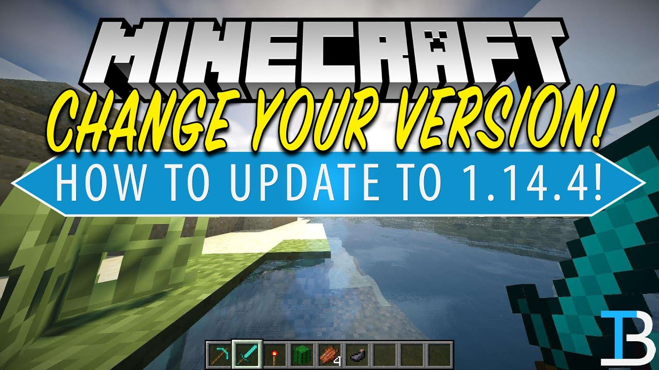 How To Change Your Minecraft Version (How To Download Minecraft 12.1212.12)