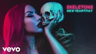 New Years Day - Skeletons (Lyric Video)
