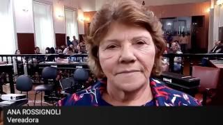 CPI DAS GANGUES: Ana Rossignoli, vereadora, fala sobre a comissão