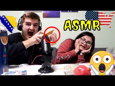 We Tried ASMR For The First Time