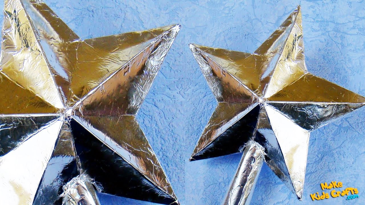 How To Make Star Christmas Tree Toppers? YouTube - Make A Christmas Star Tree Topper