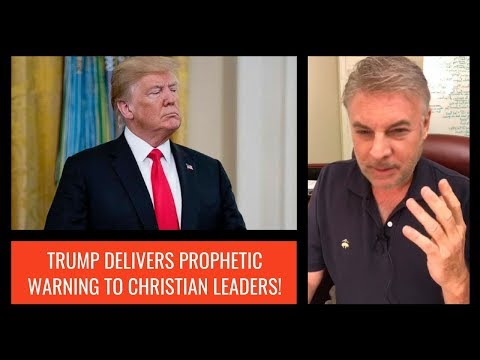 Trump Delivers Prophetic Warning To Christian Leaders!