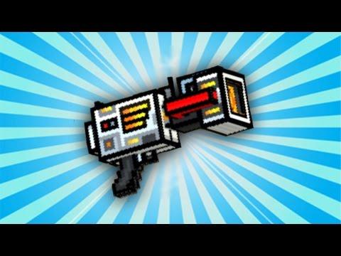 Pixel Gun 3D - Anti-Gravity Blaster UP2 [Review]