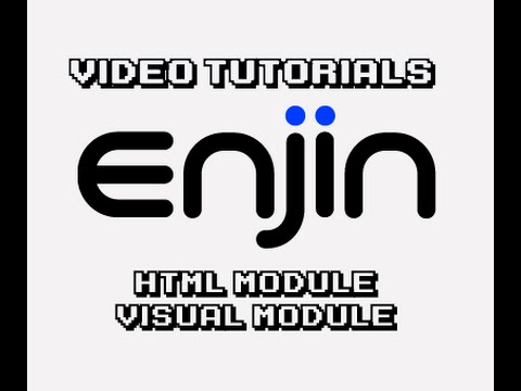 [Enjin Tutorial] HTML Module Visual Editor