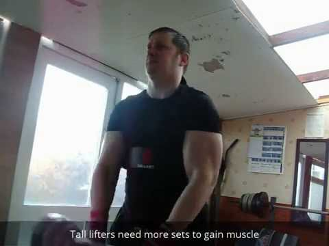 Tips for tall natural weightlifters