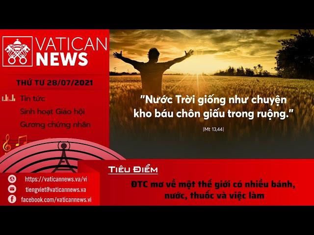 Radio thứ Tư 28/07/2021 - Vatican News Tiếng Việt
