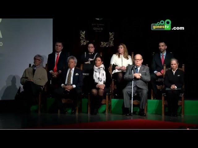 Gines celebró el Día de Andalucía homenajeando a los Ginenses del Año