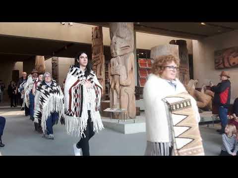 Coast Salish Weavers Fashion Show