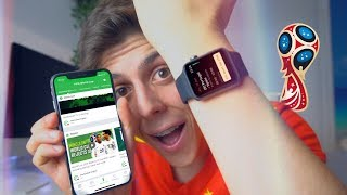 Get your Apple Watch and iPhone ready for the World Cup!