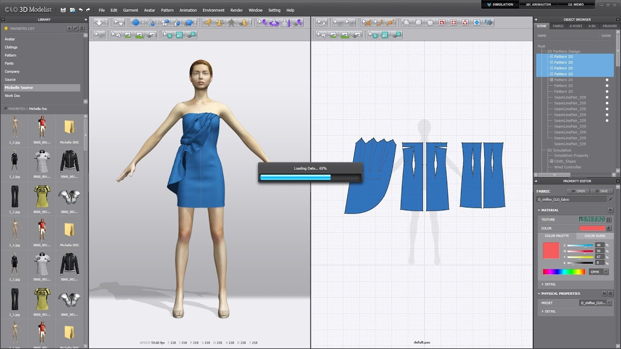 Clo3d Modelist 2013 Demo Video Youtube