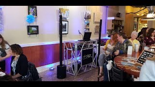 First DJ Gig With TWO LD Systems Maui 5 GO Battery Powered Speakers
