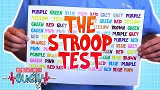 The Stroop Test   Operation Ouch   Science for Kids