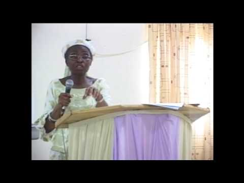 2011 Conference ( Pastor (Mrs) Oretayo Adetola - Management skills for Personal Assistants)