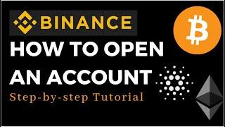 BINANCE TUTORIAL: How To Open A Binance Account | Bitcoin Crypto Exchange | Binance Canada Review