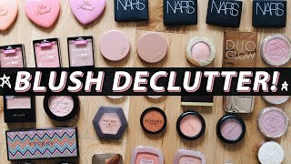 BLUSHES I'M THROWING OUT! (& What I'm Keeping) | Jamie Paige