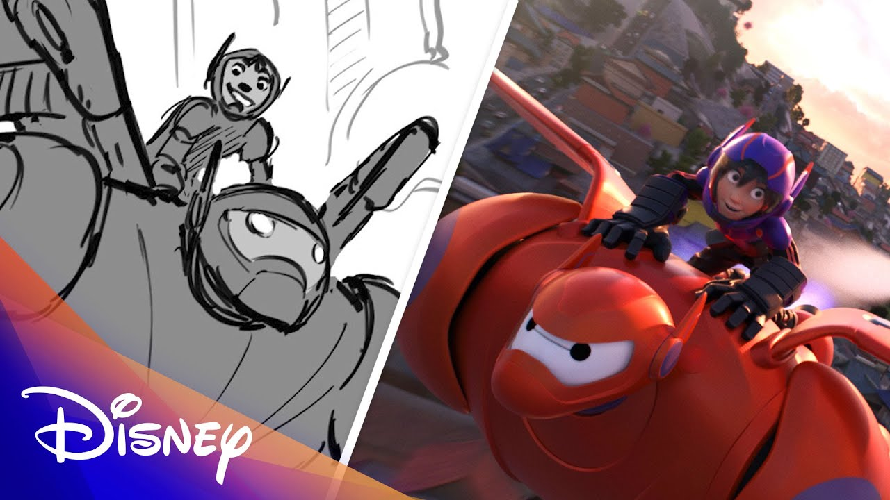 Big Hero 6 Side by Side | Disney