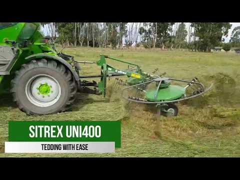 Sitrex UNI400 | Rotary Raking & Tedding In One!