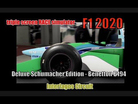 F1 2020  Deluxe Schumacher Edition   Benetton B194  Interlagos Circuit |