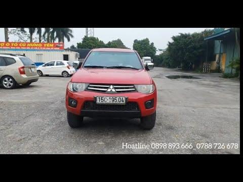 Mitsubishi Triton 2012 / Bán tải / Số sàn / Máy dầu / 1 cầu / Giá ưu đãi / Lh 0898 893 666