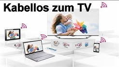 PC kabellos an den Smart TV übertragen