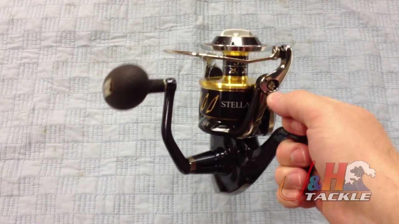 Shimano Stella SWB STL20000SWBPG Spinning Reel | J&H Tackle