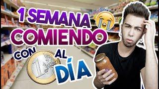 COMIENDO UNA SEMANA CON 1€ AL DÍA | MALBERT
