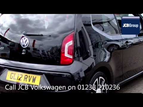 2012 Volkswagen UP HIGH UP 1l Deep Black Metallic GL12RVW for sale at JCB VW Ashford