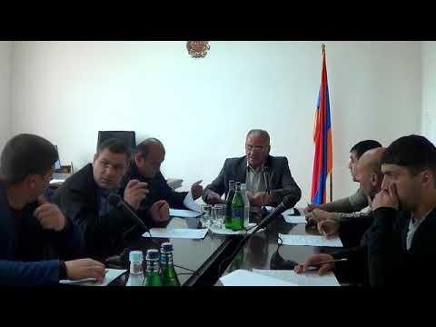 Բյուրեղավան համայնքի ավագանու հերթ. նիստ -14.05.18