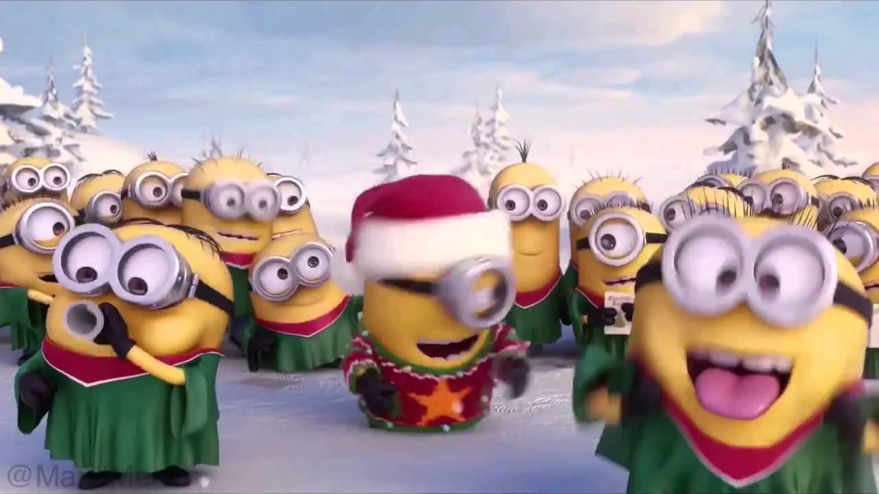minions christmas song jingle bells holy night and others fun jingle for xmas - Minions Christmas Song