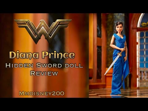 DC Wonder Woman: Diana Prince Hidden Sword doll Review & Unboxing