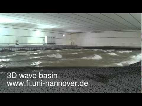 Multidirectional Wave Basin - Franzius-Institute Hannover
