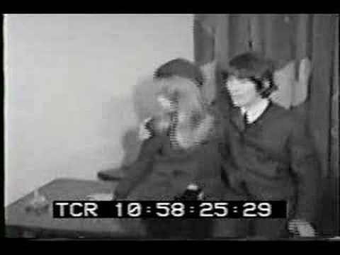 George Harrison & Pattie Boyd - Wedding Footage 1966