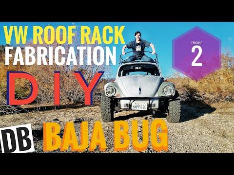 DIY VW Roof Rack Fabrication Episode 2