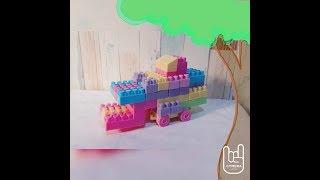 KERENN!! BULLDOZER Dari Lego, Mudah Banget!