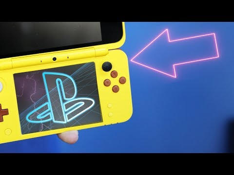 DIY PlayStation Nintendo 2DS XL