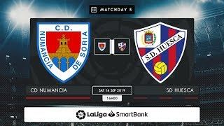 CD Numancia - SD Huesca MD5 S1600