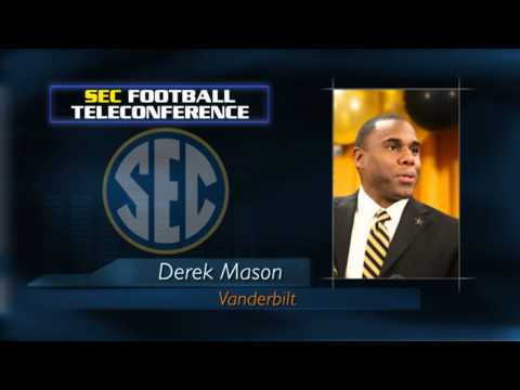 SEC Spring Football Teleconference - Derek Mason - April 30th, 2014