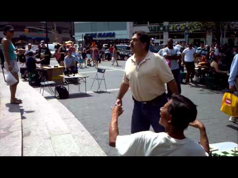 Fight over a Chess Game in NYC. Racial Slurs and Remarks
