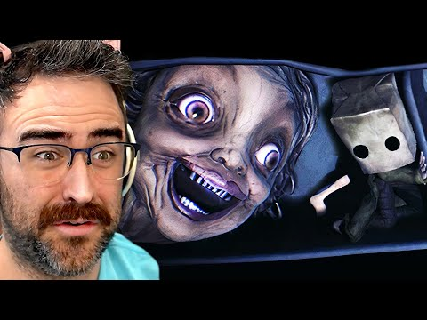 CREEPIEST TEACHER IVE EVER SEEN IN A GAME   Little Nightmares 2  