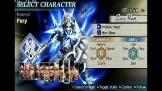 [HD] Dynasty Warriors Strike Force All Characters
